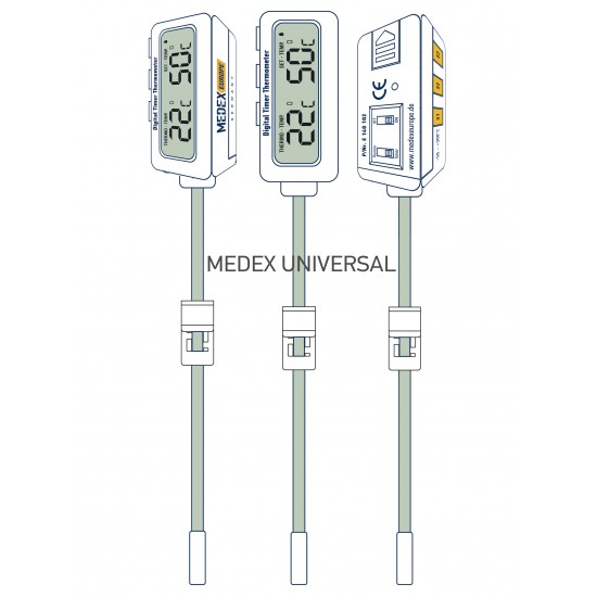 Digital Timer Thermometer - W