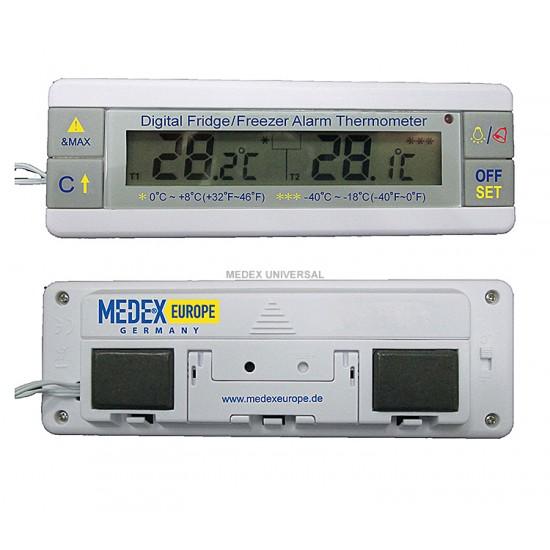 Digital fridge/Freezer alarm thermometer