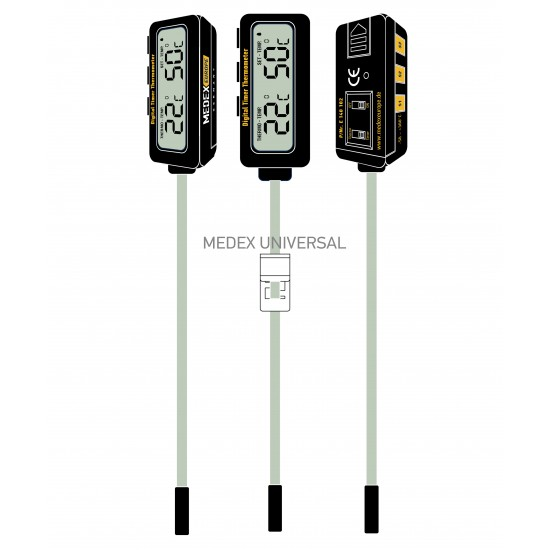 Digital Timer Thermometer-B